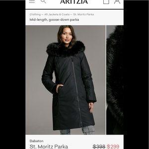 Aritzia Babaton goose down St. Moritz jacket